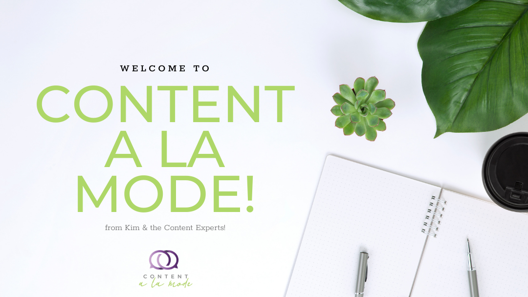 content a la mode membership welcome image