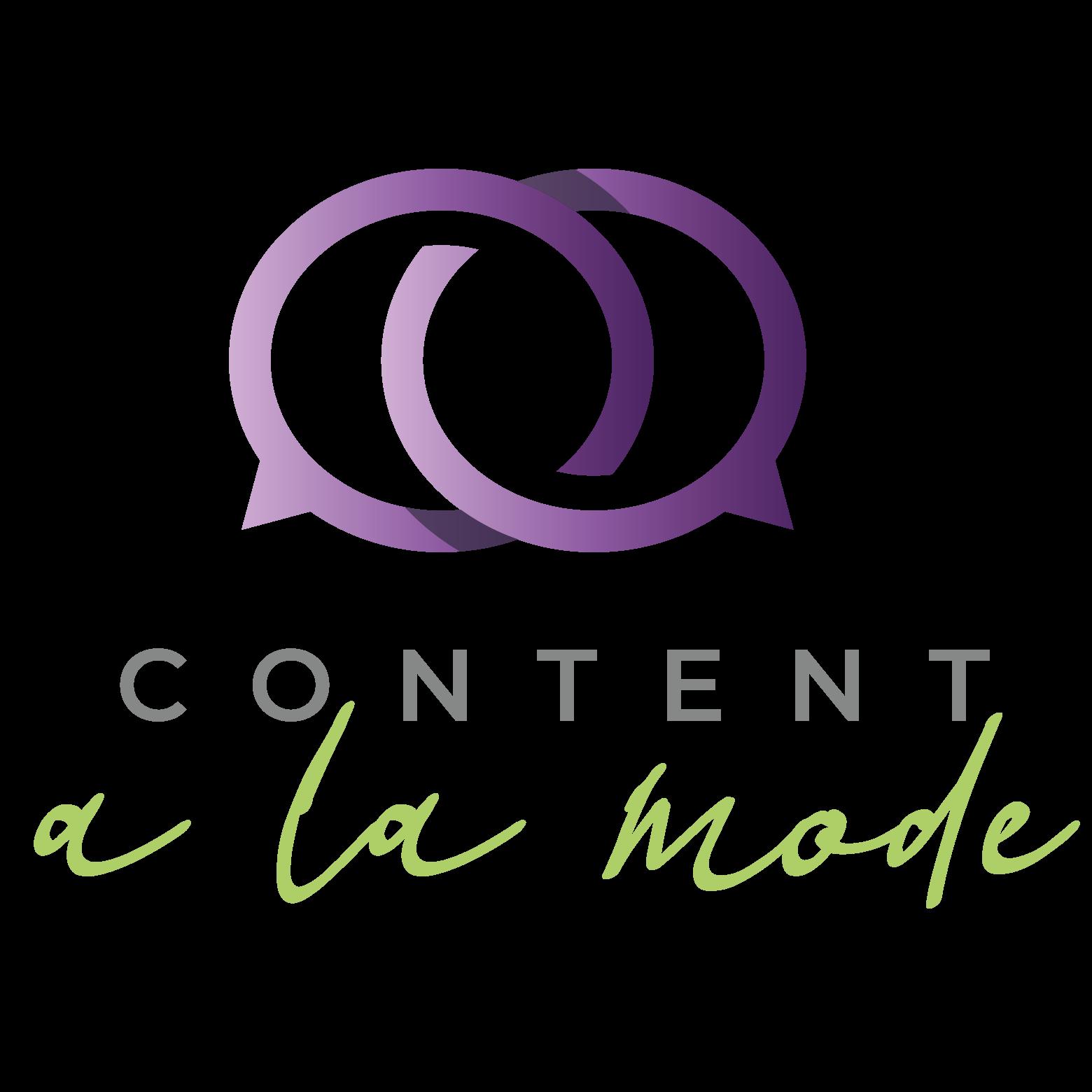 content a la mode logo